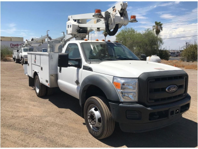 2016 ALTEC AT237 Boom, Bucket, Crane Trucks Truck