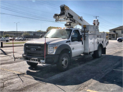 2012 ALTEC AT40M Boom, Bucket, Crane Trucks Truck