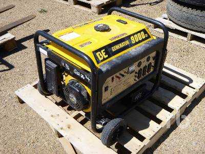 View BUCYRUS ERIE 9000 W PORTABLE GENERATOR - Listing #17957929