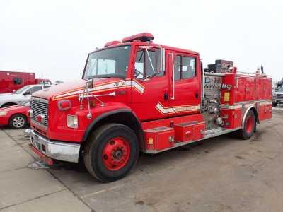 View 1999 FREIGHTLINER FL106 PUMPER FIRE TRUCK - Listing #18701028