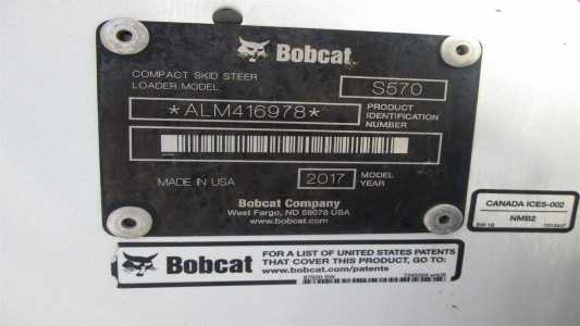 View N/A BOBCAT S570 - Listing #18703019
