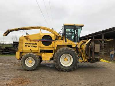 View 2002 NEW HOLLAND FX58 - Listing #18721192