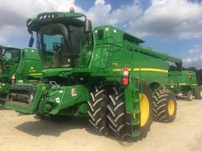 View 2017 JOHN DEERE S680 - Listing #18724453