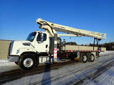 View 2018 FREIGHTLINER 108SD TEREX CRANE - Listing #19865598