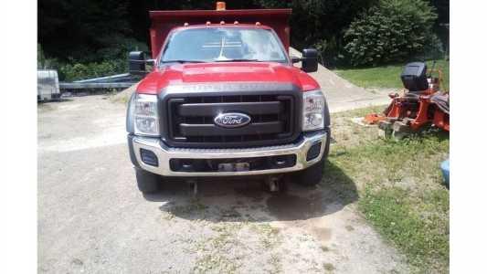 2011 FORD F550 Pickup Trucks Truck