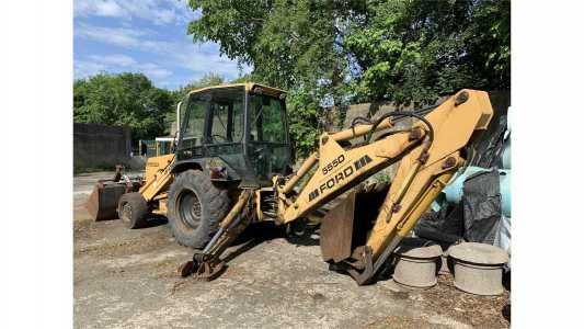 1998 FORD F555D Backhoes
