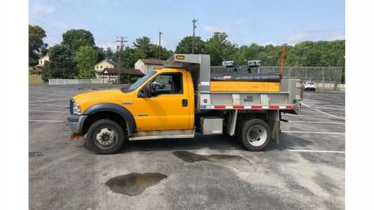 View 2007 FORD F550 - Listing #20000378