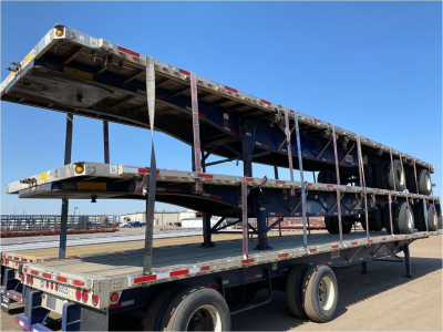 View 2013 UTILITY SPREAD AIR COMBO FLATBED, - Listing #25448