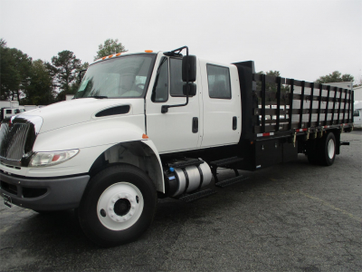 2018 INTERNATIONAL DURASTAR 4300 Stake Bed Trucks Truck