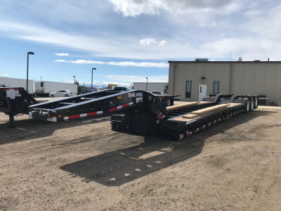 "View 2020 TRAIL KING 55 TON TK110 HDG LOWBOY, 25'-9"" WELL, 110,000 LBS - Listing #5781262"