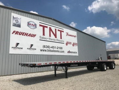 View 2022 FONTAINE (QTY: 50) 48 X 102 COMBO FLATBEDS WIDESPREAD AIR R - Listing #5822618