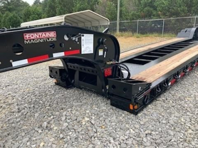View 2022 FONTAINE 60 TON HYDRAULIC DETACHABLE RGN TRIDEM - Listing #5822838