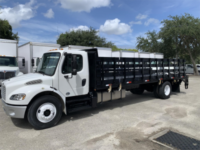2017 FREIGHTLINER BUSINESS CLASS M2 106 Stake Bed Trucks Truck