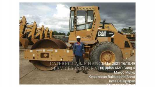 2012 CATERPILLAR CS-533E Compaction Equipment