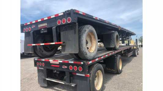 View 2012 FONTAINE 48X102 STEEL FLATBED - Listing #18666452