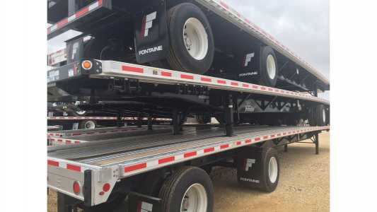 View 2021 FONTAINE 53X102 COMBO - REAR AXLE S - Listing #18672334