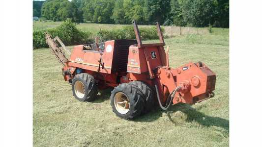 1995 DITCH WITCH 400SX Ditchers, Trenchers, Plows