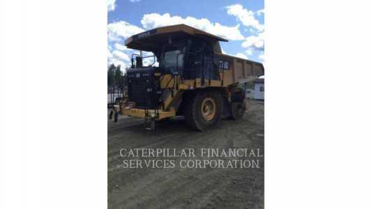 View 2016 CATERPILLAR 773G - Listing #18748661