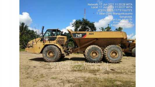 2011 CATERPILLAR 740 Articulated Trucks