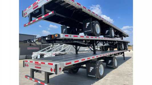 View 2022 FONTAINE 53X102 COMBO FLATBED - Listing #20138415