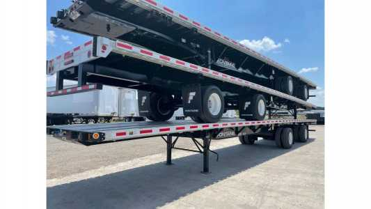 View 2022 FONTAINE 53X102 COMBO FLATBED - Listing #20138522