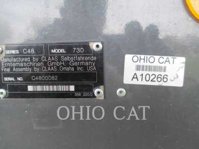 View 2011 CLAAS LEXION 730 - Listing #18746030