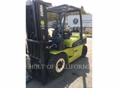2018 CLARK C40L Forklifts - Mast